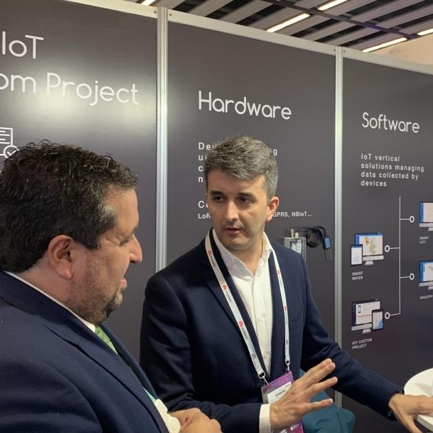 Moliner refuerza su apoyo al clúster tecnológico provincial en el Mobile World Congress