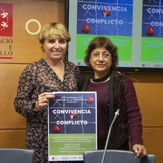 Diputación colabora con la Asociación Teléfono de la Esperanza