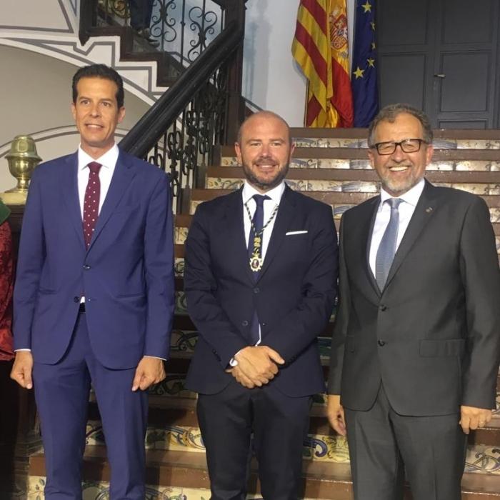 José Martí ha asistido al acto de constitución de la Diputación de Valencia