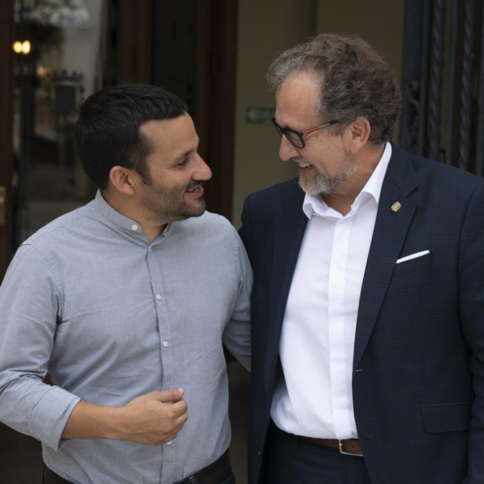 Martí y el conseller Marzà estrechan lazos para trabajar de forma conjunta