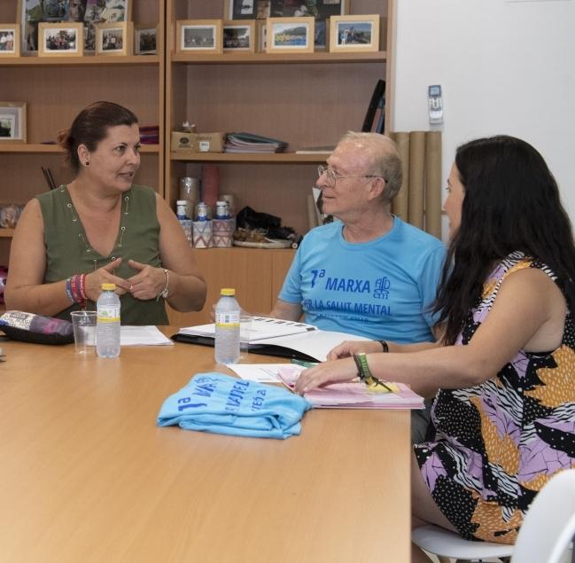 La Diputación colabora con AFDEM en defensa de los derechos de las personas con enfermedad mental