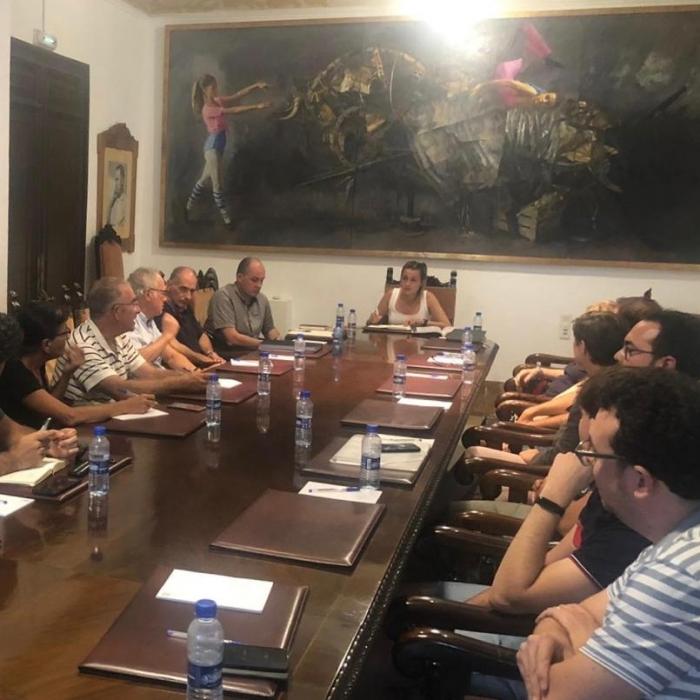 La nueva Diputación estudiará vías de colaboración con las asociaciones de la Memoria Histórica