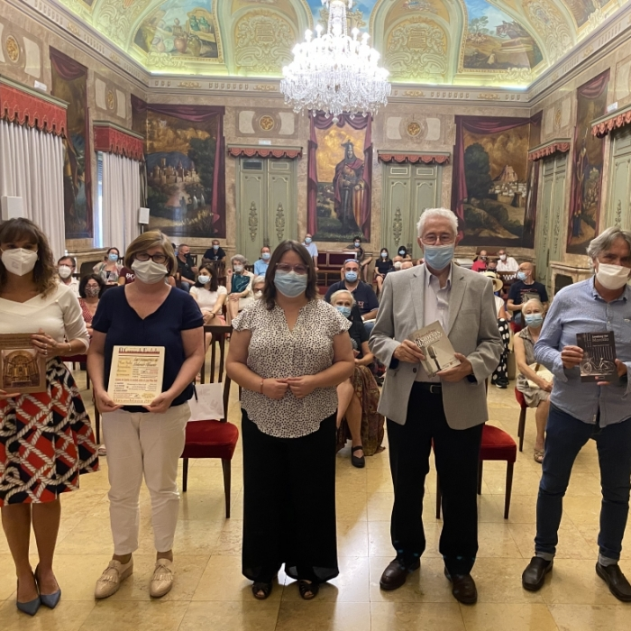 La Diputación publica cuatro libros sobre José María Arquimbau, los retablos barrocos de la provincia, el rockero Morcillo y la Fundación Max Aub