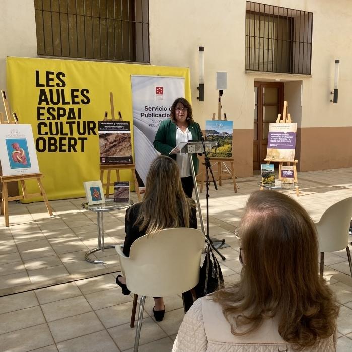 La Diputación pone en valor la historia, patrimonio y lengua de Castellón con el lanzamiento de cuatro libros inspirados en la provincia