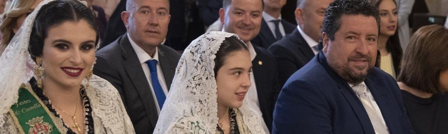 Moliner participa en la misa pontifical con motivo de la fiesta de la Mare de Déu del Lledó