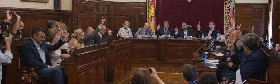 Moliner completa en el último Pleno Ordinario de la legislatura