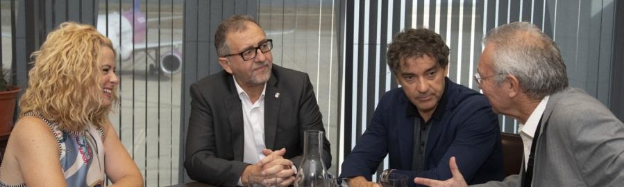El Aeropuerto de Castelló, 'al alza' y con el reto de frenar la despoblación
